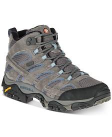 Merrell Women's Moab 2 Mid Waterproof Sneakers