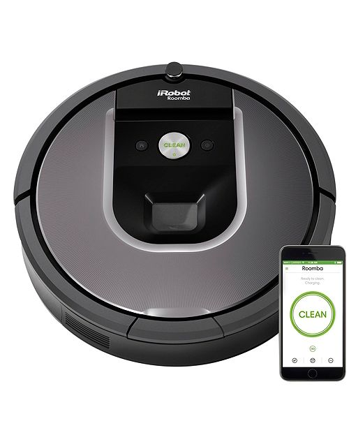 iRobot Roomba® 960 Wi-Fi® Connected Robot Vacuum Bundle