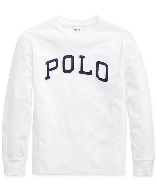Polo Ralph Lauren Big Boys Jersey Cotton Shirt