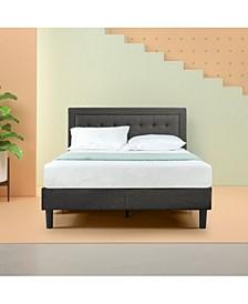Dachelle Platform Bed / Strong Wood Slat Support, Queen