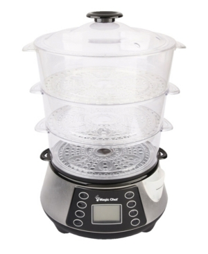 Magic Chef 3-Tier Food Steamer