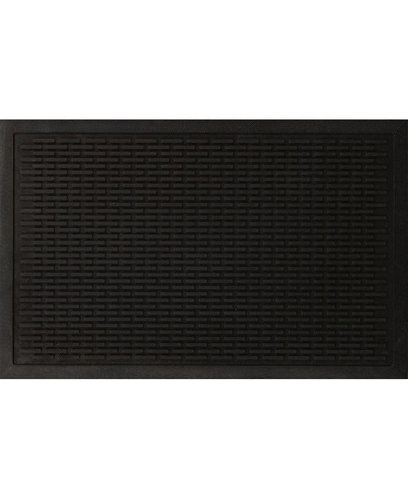 """Ottomanson Rubber Entrance Doormat, 24"""" x 36"""""""