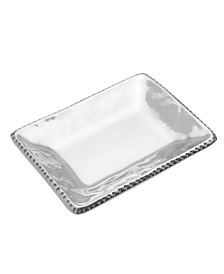 Wilton Armetale River Rock Trinket Tray