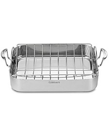 "MultiClad Pro 16"" Rectangular Roaster with Rack"