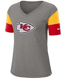 Nike Women's Kansas City Chiefs Tri-Fan T-Shirt