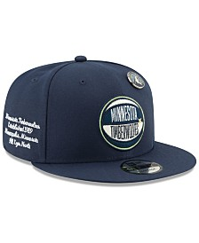 New Era Minnesota Timberwolves On-Court Collection 9FIFTY Cap