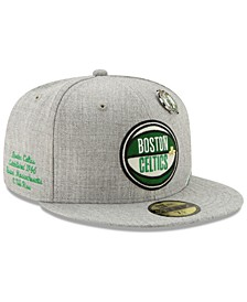 Boston Celtics 2019 On-Court Collection 59FIFTY Fitted Cap