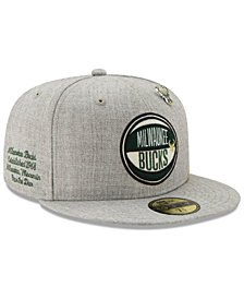 New Era Milwaukee Bucks 2019 On-Court Collection 59FIFTY Fitted Cap