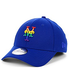 New York Mets Pride 39THIRTY Stretch Fitted Cap