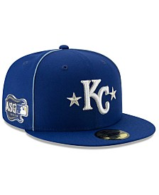 New Era Little Boys Kansas City Royals 2019 All Star Game Patch 59FIFTY Fitted Cap