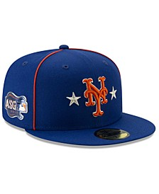 Little Boys New York Mets 2019 All Star Game Patch 59FIFTY Fitted Cap