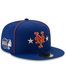 New Era Little Boys New York Mets 2019 All Star Game Patch 59FIFTY Fitted Cap