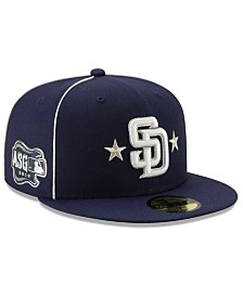 New Era Little Boys San Diego Padres 2019 All Star Game Patch 59FIFTY Fitted Cap