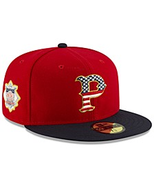 Pittsburgh Pirates Stars and Stripes 59FIFTY Cap