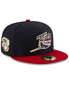 New Era Tampa Bay Rays Stars and Stripes 59FIFTY Cap