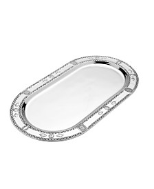 Wilton Armetale Large Oval Tray
