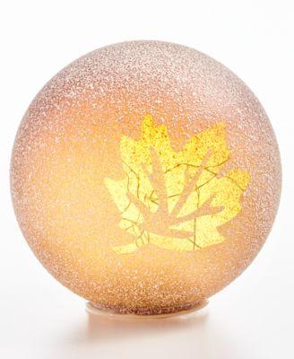 CLOSEOUT! Harvest Large Leaf LED Globe
