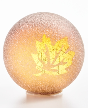 Harvest Large Leaf LED Globe