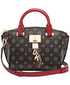 Elissa Heritage Logo Satchel, Created for Macy's