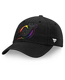 New Jersey Devils Pride Fundamental Strapback Cap
