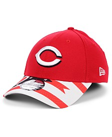 New Era Cincinnati Reds Flag 39THIRTY Cap