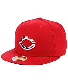 New Era Cincinnati Reds Retro 2009 Stars and Stripes 59FIFTY Fitted Cap