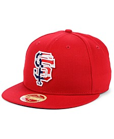 New Era San Francisco Giants Retro 2009 Stars and Stripes 59FIFTY Fitted Cap