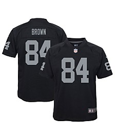 Nike Little Boys Antonio Brown Oakland Raiders Game Jersey