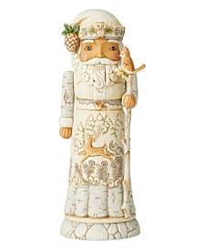 Jim Shore White Woodland Nutcracker