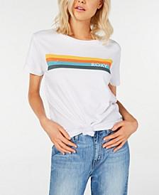Juniors' Cotton Striped T-Shirt