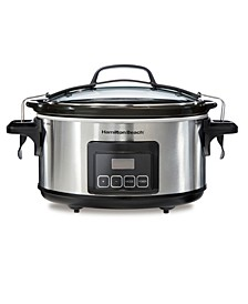 Programmable Stay or Go 6 Qt. Slow Cooker