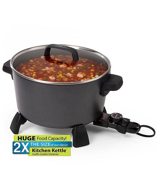 10 Qt Kitchen Kettle Multi Cooker Steamer
