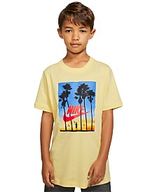 Nike Big Boys Graphic-Print Cotton T-Shirt