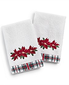 Poinsettia 2-Pc. Fingertip Set, Created for Macy's