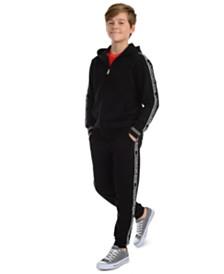 Calvin Klein Jeans Big Boys Logo Tape Fleece Joggers