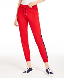 Tommy Hilfiger Sport  Varsity Side-Panel Jogger Sweatpants