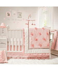 Arianna 4 Piece Crib Bedding Set