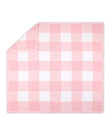 The Peanutshell Farmhouse Large Check Blanket