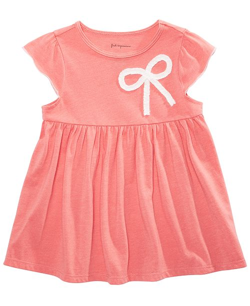 First Impressions Toddler Girls Bow Tunic, Created for Macy's
