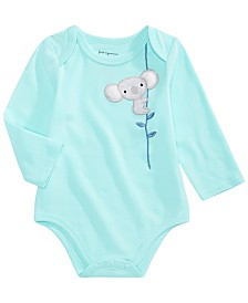 First Impressions Baby Girls Koala Bodysuit, Created for Macy's