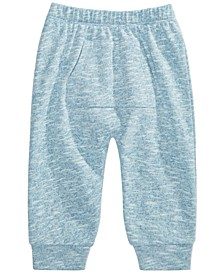 Baby Boys Marled Jogger Pants, Created for Macy's