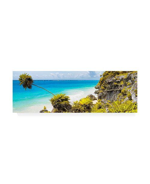 """Trademark Global Philippe Hugonnard Viva Mexico 2 Caribbean Coastline Tulum I Canvas Art - 15.5"""" x 21"""""""
