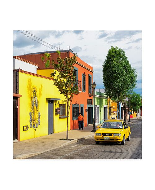 "Trademark Global Philippe Hugonnard Viva Mexico 3 Oaxaca Street Canvas Art - 15.5"" x 21"""