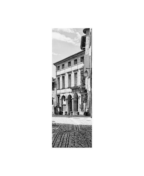 "Trademark Global Philippe Hugonnard France Provence 2 French Facade B&W Canvas Art - 19.5"" x 26"""