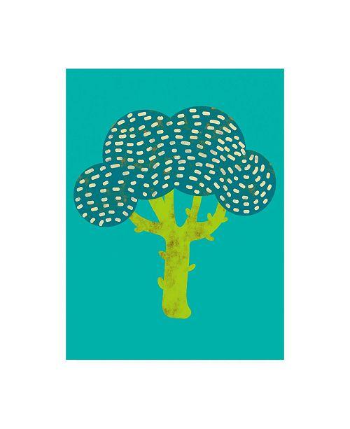 "Trademark Global Chariklia Zarris Veggie Party III Canvas Art - 36.5"" x 48"""