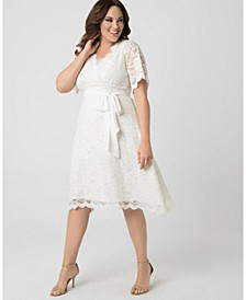 Women's Plus Size Graced With Love Dress