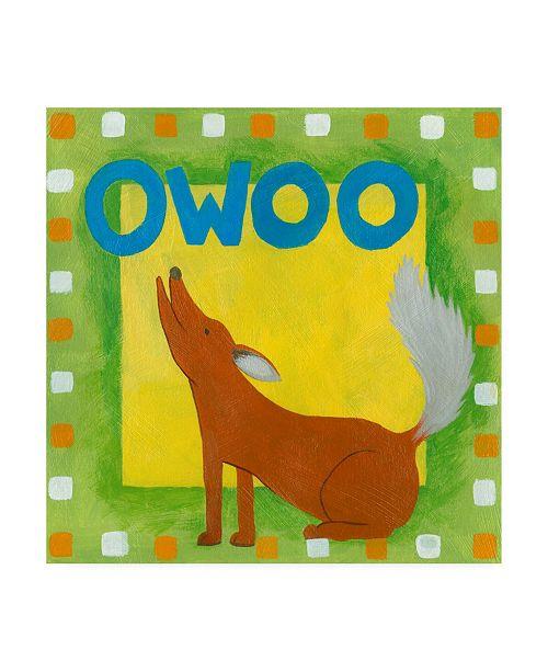 "Trademark Global Megan Meagher Owoo Canvas Art - 36.5"" x 48"""