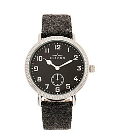 Men's Northrop Genuine Leather Strap Watch 42mm