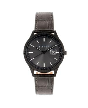 Men's Concorde Genuine Leather Strap Watch 41mm