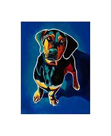 """DawgArt Tyson Dachsund Canvas Art - 36.5"""" x 48"""""""
